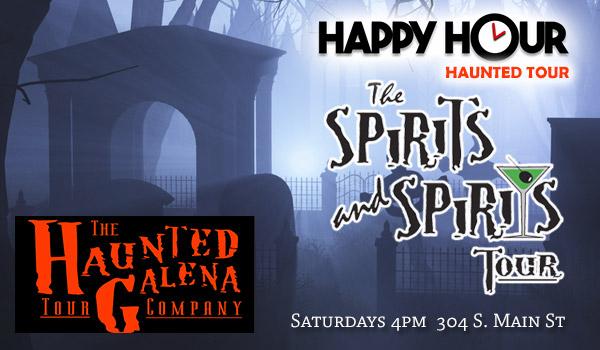 Haunted Galena Happy Hour